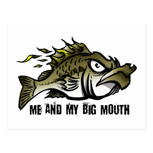 Me and my Big Mouth Post Cards