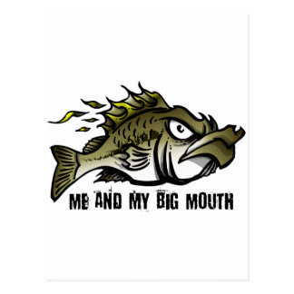Me and my Big Mouth Postcards