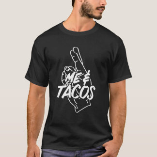 """Me and Tacos are like """"this.""""  Taco Lover T-Shirt"""