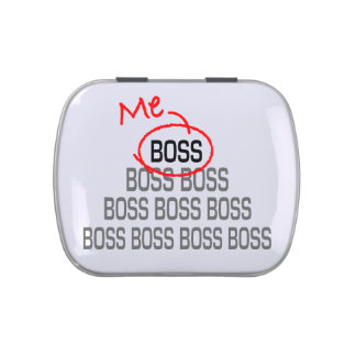 Me Boss Jelly Belly Tin