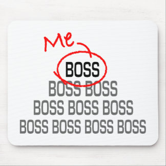 Me Boss Mouse Pad