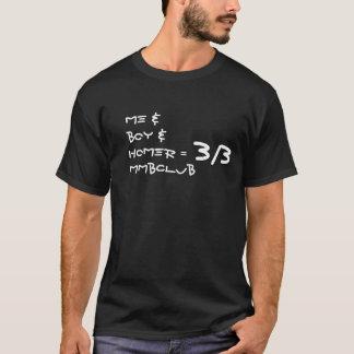 Me & Boy & Homer = 3/3 MMBClub shirt
