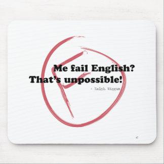 Me Fail English? Mouse Pad