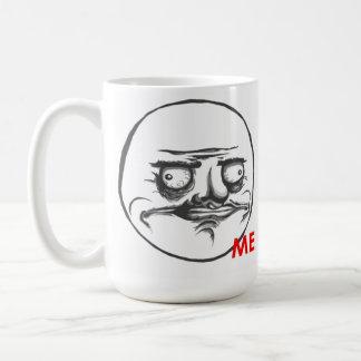 Me Gusta Basic White Mug