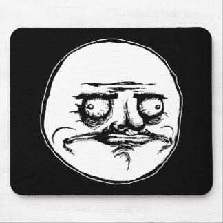 me gusta face rage face meme humor lol rofl mouse pad