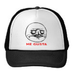 Me Gusta Face with Text