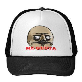 ME GUSTA MESH HATS