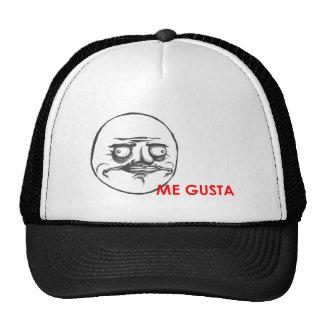 Me Gusta Meme - Rage Face Trucker Hats