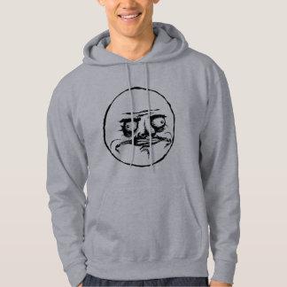 Me Gusta Rage Face Meme Sweatshirts