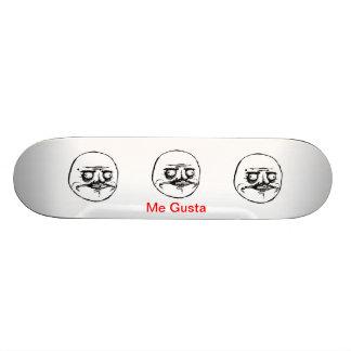Me Gusta Skate Deck