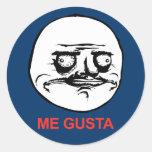 ME GUSTA Sticker
