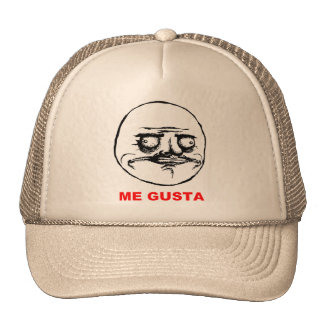 Me Gusta (text) Hats