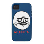 ME GUSTA Tough iPhone 4 Case