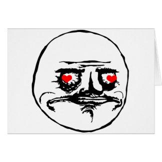 Me Gusta Valentine in Love - meme Cards