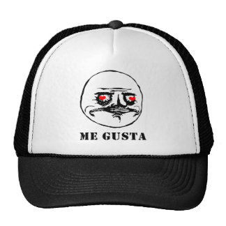 Me Gusta Valentine in Love - meme Mesh Hat