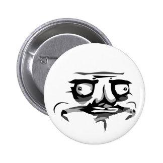 me gusta web comic face 6 cm round badge