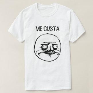 ME GUSTA (WHITE) SHIRTS