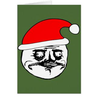 me gusta xmas meme greeting cards