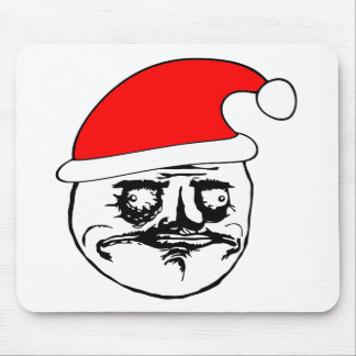 me gusta xmas meme mouse pad