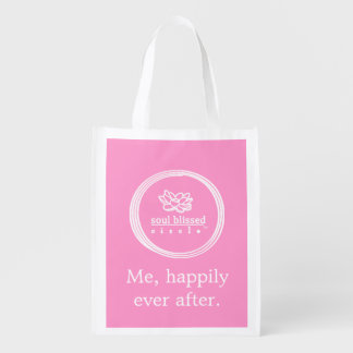 Me, happily ever after. Reusable bag
