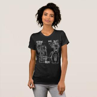 ME HER GIRLFRIEND BOYFRIEND SCHEMATIC DRAWING T-Shirt