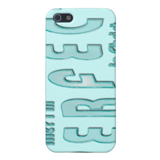 Me? I'm Perfect...in Christ - Hebrews 10:14 Case For iPhone 5/5S