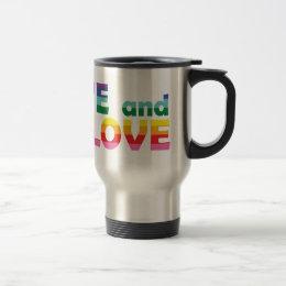 ME Live Let Love Travel Mug