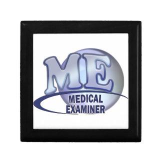 ME MEDICAL EXAMINER FUN BLUE LOGO GIFT BOX