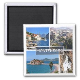 ME * Montenegro Square Magnet