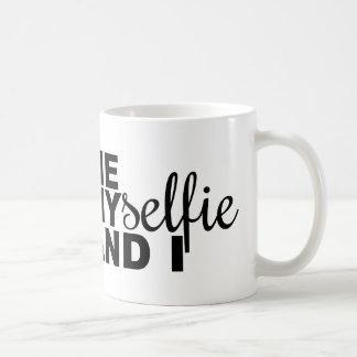 Me Myselfie and I Funny Selfie Coffee Mug