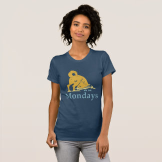 Me on Mondays, Dog buried head women's shirt