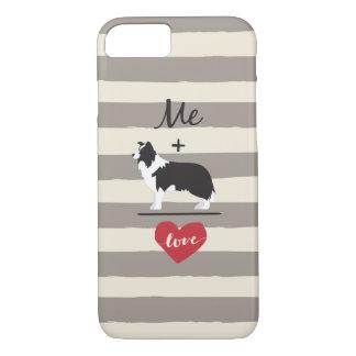 Me plus Border Collie equal Love Cute Phone Case