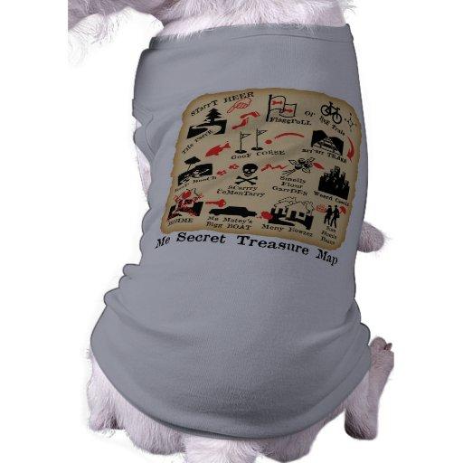 ME SECRET TREASURE MAP PET TSHIRT