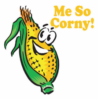 Me SO Corny corn cob Photo Cutout