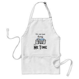 Me Time Flying Standard Apron