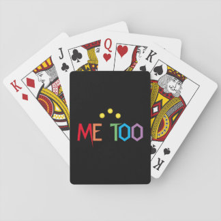 ME TOO Colorful Rainbow Playing Cards