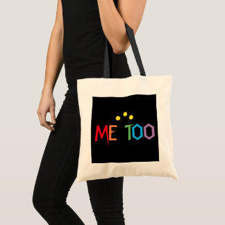 ME TOO in Rainbow Colors Budget Tote Bag