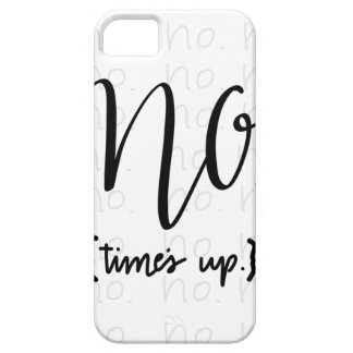 Me Too Movement Inspired No Times Up iPhone 5 Case