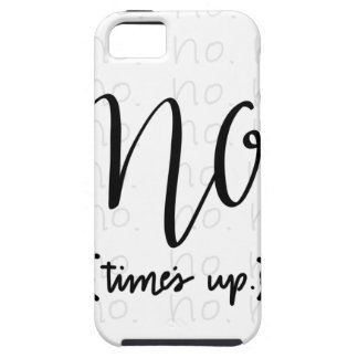 Me Too Movement Inspired No Times Up iPhone 5 Cover
