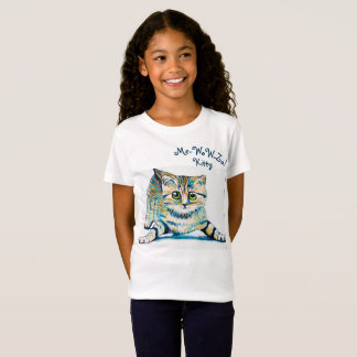 Me-WoW-Za! Kitty Girls Shirt
