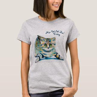 Me-WoW-Za! Kitty Womens Shirt