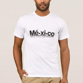 Mé-xi-co: eme.(e).acento.equis.(i).ce.(o) Men T-Shirt