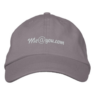 Me@you.com Embroidered Hat