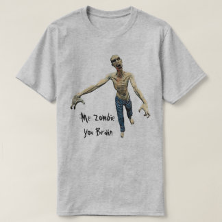 Me Zombie - You Brain For Men And Boys T-Shirt