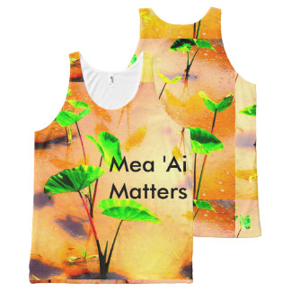 Mea Ai Matters All-Over Print Singlet