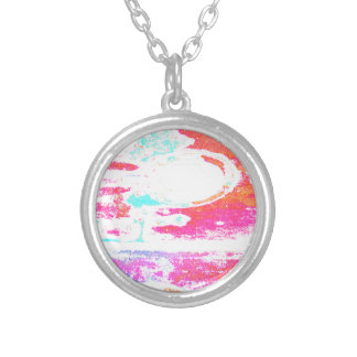 Meachanical Sunset Personalized Necklace