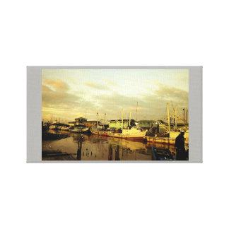 Meadow Bank Wharf Canvas Print