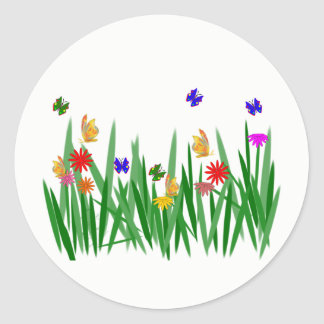Meadow Classic Round Sticker