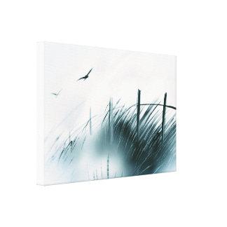 """""""Meadow Crossing"""" Art on Canvas"""