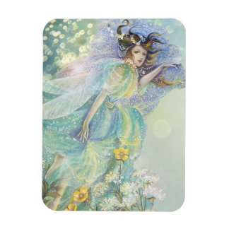 Meadow Fairy Light Rectangular Photo Magnet